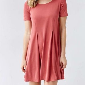 Burnt orange Urban Outfitters dress